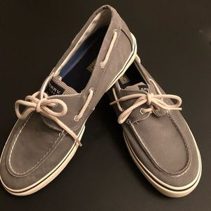 Gray Sperry Top-Sider Shoes